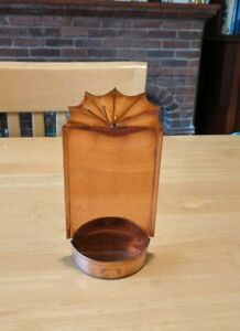 Copper Candle Holder, hand made in Ironbridge, Shropshire