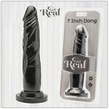 Sex Toys Falli Dildo Realistico 7 Dong Black Get Real 18 cm Toy Joy SexyShop hot