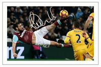 ANDY CARROLL WEST HAM SOCCER SIGNED AUTOGRAPH PHOTO PRINT