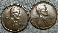 1926-S 1929-S Lincoln Cent Wheat Penny --- Nice Coin Lot --- #L692
