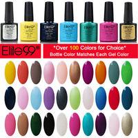 Elite99 Gel Nail Polish Manicure Salon Nail Art Soak Off UV LED Varnish Lacquer