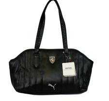 PUMA PMMO1035BLK FERRARI LS HANDBAG Black Polyurethane Hand Bag