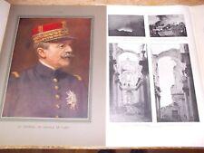ILLUSTRATION 1915 3777 GUERRE DE LANGLE DE CARY ARRAS LOTI MASSEVAUX ALSACE CALO