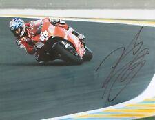Nicky Hayden signed 10x8 Image C photo UACC Registered Dealer AFTAL RACC Trusted