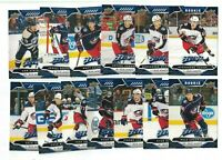 Columbus Blue Jackets 2019-20 Upper Deck MVP BLUE PARALLEL Team Set FACTORY SET