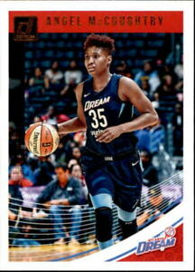 Angel McCoughtry 2019 Donruss WNBA Card #1