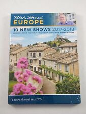 RICK STEVES' EUROPE 10 NEW SHOWS DVD 2017-2018 ~ 5 HOURS OF TRAVEL ~ NEW IN BOX