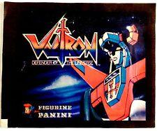 VOLTRON - 1 BUSTINA FIGURINE PANINI 1984 RARA e INTROVABILE genere robot anni 80