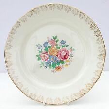 Vintage 1930s Barker Bros Royal Tudor Ware Floral Salad Dinner Plate