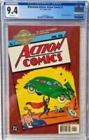 CGC 9.4 MILLENNIUM EDITION: ACTION COMICS #1 .. 1ST APP SUPERMAN .. 2000 ..