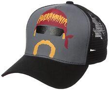 Hulk Hogan Hulkamania Trucker Hat Cap Retro Design WWF WWE Wrestling AUTHENTIC