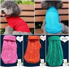 Costumes Hiver Pour Animaux Chien Chat Manteau Knit Sweater Pull Gilet Vêtements
