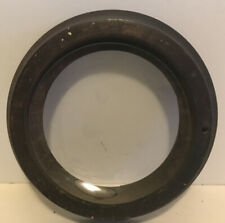 Vintage Round Picture Frame With Concave Glass No Reserve Free Shipping