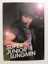 Super Junior Star Collection - Sungmin Shining Card