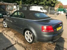 07 AUDI A4 CABRIOLET 2.0 TFSI S-LINE AUTO, LEATHER,SAT NAV 1 OWNER, HISTORY ETC