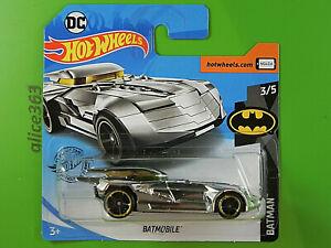 Hot Wheels 2020 - Batmobile - Batman - 9 - Nuovo IN Conf. Orig.