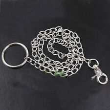 100cm Steel replacement tethering ring for Neck collar and cuffs Leash Lead