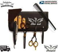 Hair Cutting,Thinning Scissors Shears Set Hairdressing Salon Professional/Barbe
