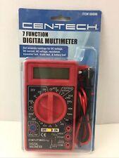 New Listingcentech 7 Function Digital Multimeter Ac Dc Voltage Current Resistance