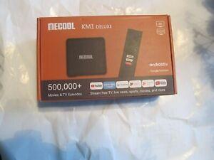 MECOOL KM1 Android 9.0 TV Box   4GB / 32 GB DDR3 Amlogic 2.4G/5G WiFi 4K BT4.2
