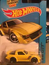 "New listing 2014 Hot Wheels ""Mazda Rx-7""-Yellow"