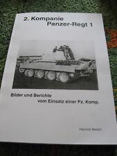 2. Kompanie Panzer-Regiment 1 - 1. Panzerdivision  ! A 4 Band !
