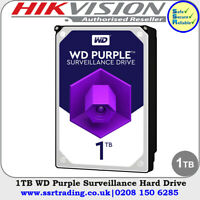 1TB WD Purple Hard Drive for Hikvision DVR DS-7208HQHI-K1 8 Channel Recorders