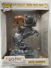New Funko Pop Ron Weasley #82 Riding Chess Piece Movie Moments