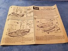 Revell - USS Burton Island - Instructions only 1960