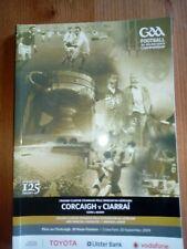 GAA 2009 All Ireland SFC final Cork v Kerry official match programme