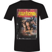 Pulp Fiction Poster T-Shirt Official Merchandise M/L/XL Rar & Neu