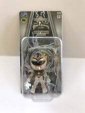 Crystal Clear White Power Ranger SDCC 2017 The Loyal Subjects MMPR Translucent