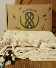 SIminiti  11 Reusable Produce Bags, Organic Cotton Mesh Weight Label, Recyclable