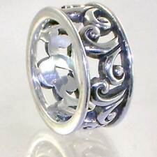 BALI_OPEN FILIGREE SWIRL BAND RING 925 STERLING SILVER__SIZE-6