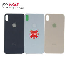 Big Cam Hole Back Glass Back Door Cover Replace For iPhone 8 Plus X XR XS XS Max