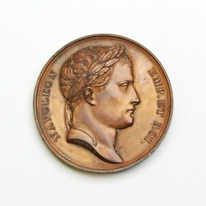 France 1807 Napoleon 'Wurttemberg Alliance' Bronze Medal - Free Shipping