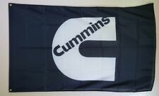 Cummings Diesel Engines Logo 3x5 Banner Flag Garage Wall Decor Nissan Ram V8