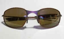 Vintage Oakley Tan Wrapped Leather / Rare Sunglasses / Nice Condition 1993/2000