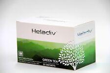 Green Tea, 25 Sachets Pure Ceylon Tea by Heladiv,