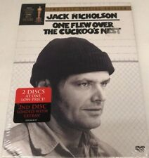 Jack Nicholson: One Flew over The Cuckoo's Nest (DVD) Sealed! Brand New