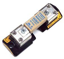 GOULD SHAWMUT A50QS80-4R AMPTRAP FUSE W/ (2) BUSSMANN BH-0121 MODULAR FUSEBLOCKS