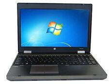 "HP ProBook 6565b 15.6"" Business Laptop AMD A6-3410MX Quad-Core 1.6GHz 4GB RAM"