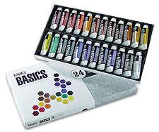 Liquitex Basics 24 Tube Box Set of 22ml Artists Acrylic Paints