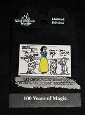 Disney Pin - Wdw - 100 Years of Magic - 1934 - Snow White Feature Film - #8