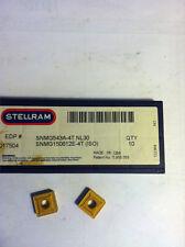 STELLRAM EDP #017504, SNMG 543A-4T GRADE NL-30 CARBIDE INSERTS