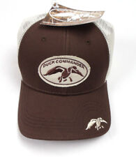 Duck Commander Brown With Ivory Mesh Fitted Cap A Flex Duck Dynasty