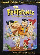 THE FLINTSTONES COMPLETE FIFTH SERIES SEASON 5 BOXSET 4 DISCS R1/4 DELUXE SET