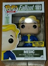 Funko Pop Games #101 Vault Boy Medic Fallout Mystery LE Hot Topic Exclusive