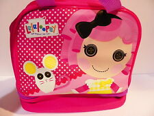 LUNCH BAG BOX COSMETIC LALALOOPSY KID GIRL LICENSE BAG THERMOS GIOCHI PREZIOSI