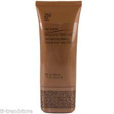 Revlon Beyond Natural Skin Matching Make up Foundation 250 Deep NEU